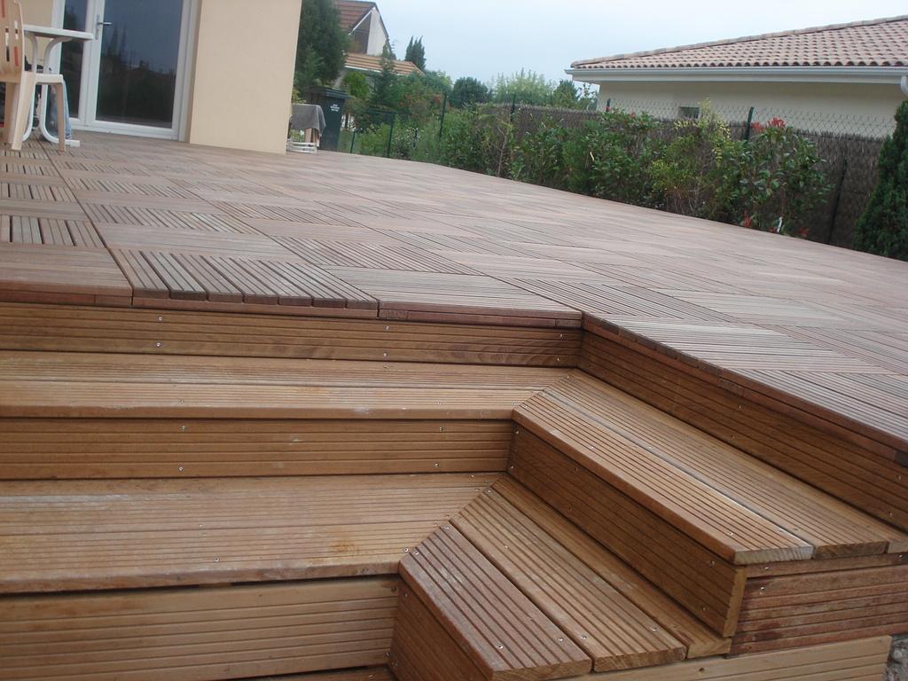 Terrasse bois/ menuiserie extérieure